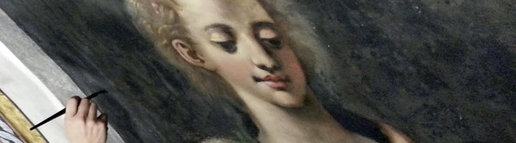 restauration peinture murale normandie