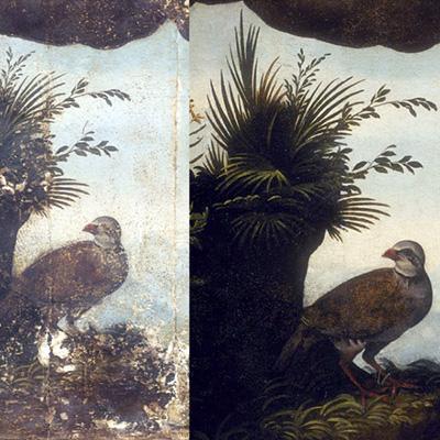 Restauration peinture sur bois Rouen