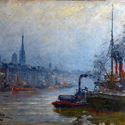 Restaurateur peinture sur bois Rouen