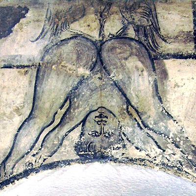 Restauration peinture murale Dieppe